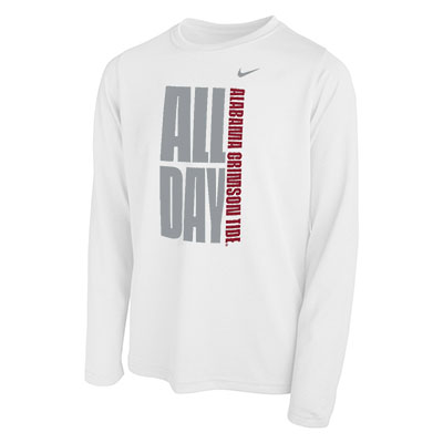 Alabama Crimson Tide All Day Dri-Fit Legend 2.0 Long Sleeve T-Shirt