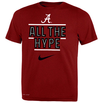 Alabama Script A All The Hype Legend T-Shirt