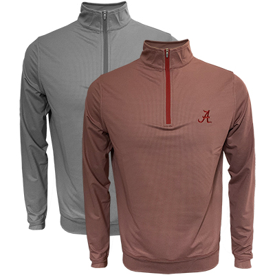 Script A Houndstooth Perth Stretch Quarter Zip