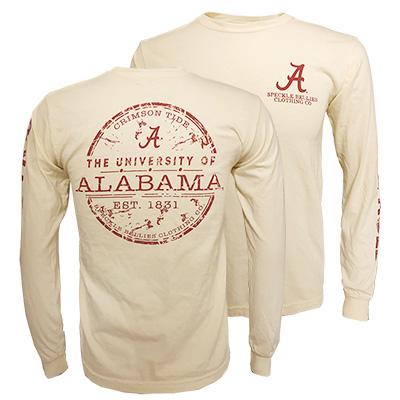 The University Of Alabama Established 1831 Long Sleeve T-Shirt