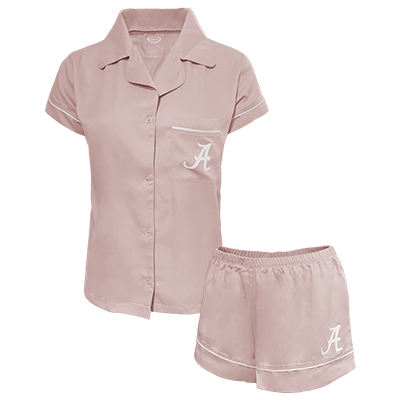 Script A Top And Short Pajama Set