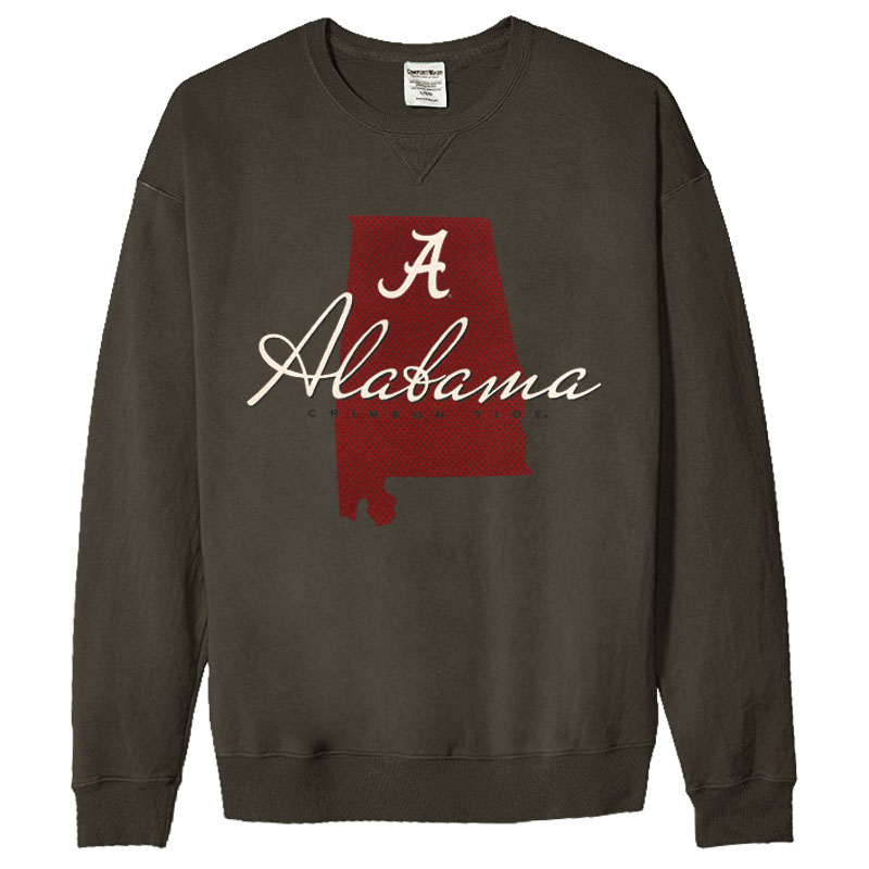 Script A Alabama Crimson Tide Sweatshirt (SKU 1338447043)