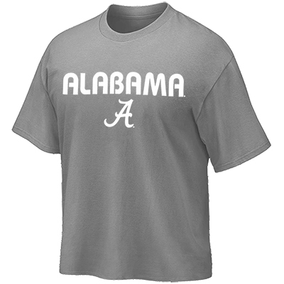 University Of Alabama Repeated Short Sleeve Pocket T-Shirt