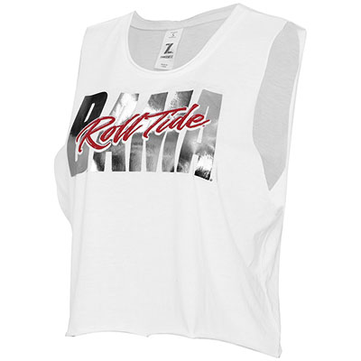 Bama Roll Tide Score Crop Tank