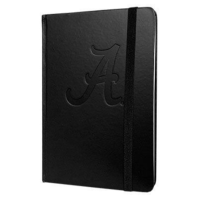 Black Hardbound Script A Journal