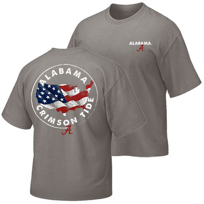 Alabama Crimson Tide Sketch U.S.A. T-Shirt