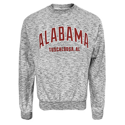 Alabama Over Tuscaloosa Pro Weave Crewneck Sweatshirt