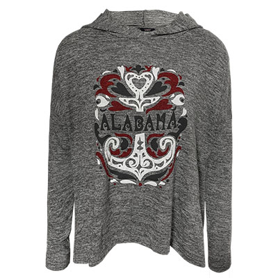 Alabama Anika Hacci Knit Hooded T-Shirt