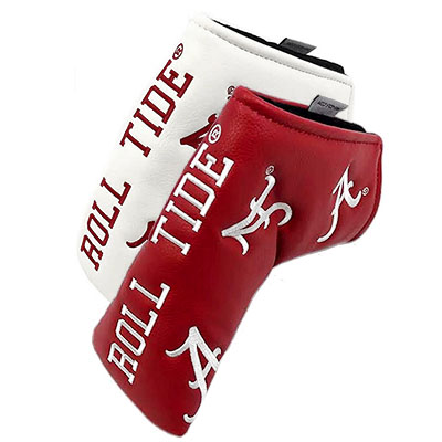 Alabama Blade Putter Cover With Script A  And Roll Tide