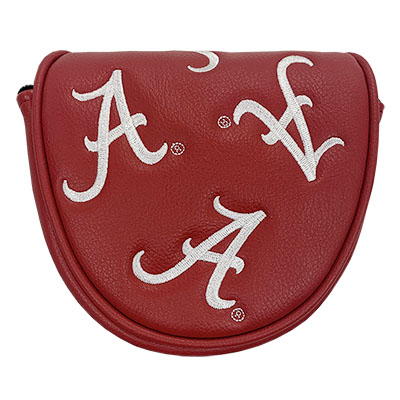 ALABAMA GOLF MALLET PUTTER COVER WITH SCRIPT A