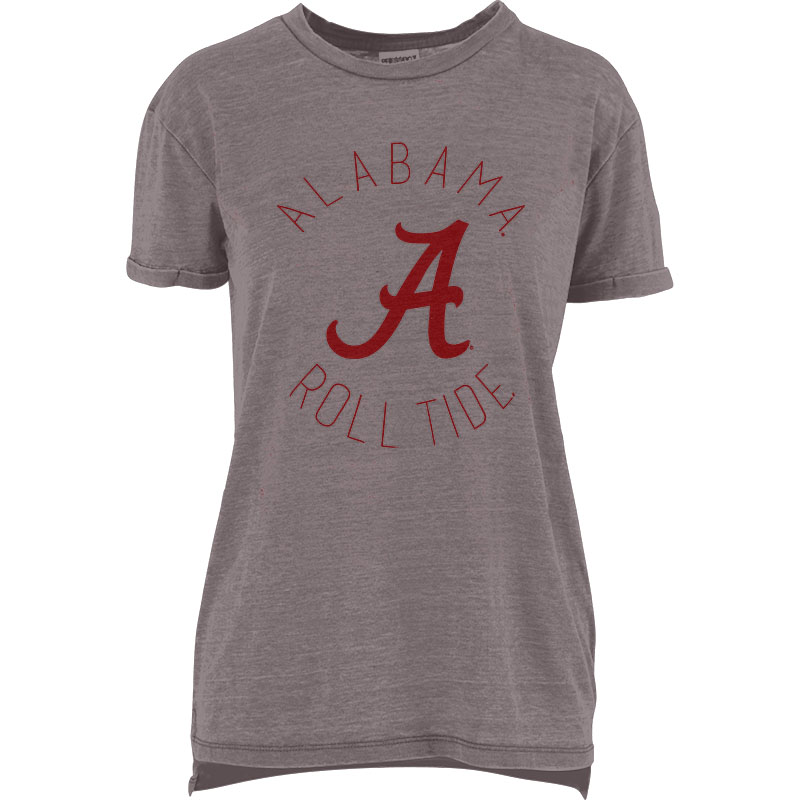 Alabama Roll Tide Script A Vintage Wash Boyfriend T-Shirt (SKU 13454425102)
