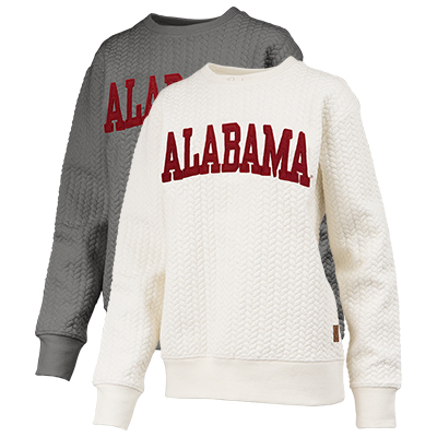 Stitched Alabama Cable Knit Pullover