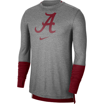 Alabama Script A Long Sleeve Breathe Player Shirt