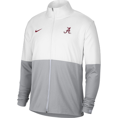 Alabama Script A Full Zip Woven Jacket