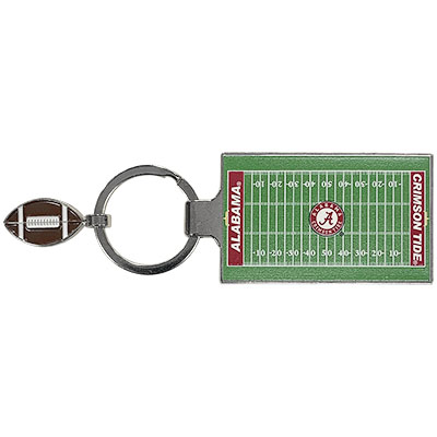 Alabama Football Field Key Tag