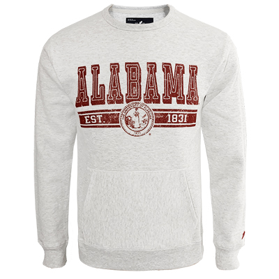 Alabama Est. 1831 University Seal Pocket Crew Sweatshirt