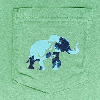 ALABAMA ROLL TIDE ROLL SUNSET ELEPHANT T-SHIRT