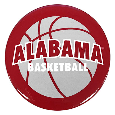 Alabama Basketball Button
