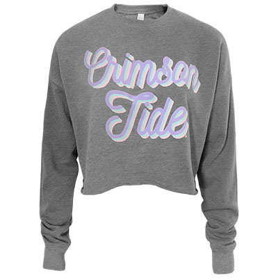 Alabama Crimson Tide Spring Fling Crop Pullover