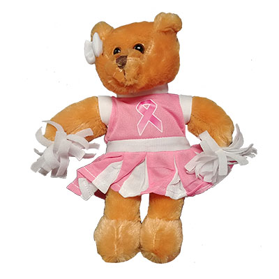 Breast Cancer Power Of Pink Cheer Bear