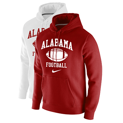 Alabama Football Club Fleece Pullover Hoodie