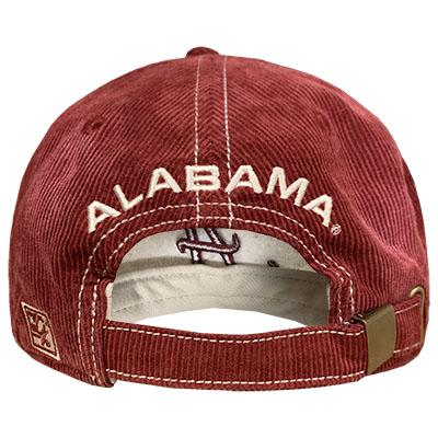 ALABAMA SHERPA SCRIPT A CORDUROY CAP