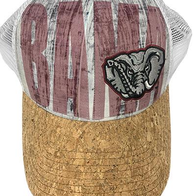 BAMA CORK BILL TRUCKER CAP