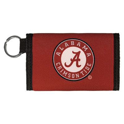 Alabama Nylon Keychain Wallet