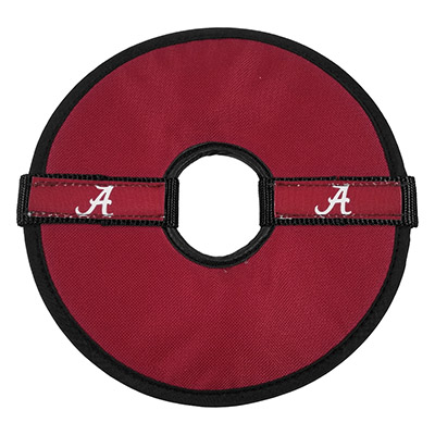 Alabama Crimson Tide Pet Flying Disc Toy