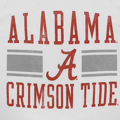 ALABAMA CRIMSON TIDE SCRIPT A THE CHAMP ECO FLEECE CREW