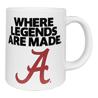 Alabama Where Legends Are Made Ceramic Mug