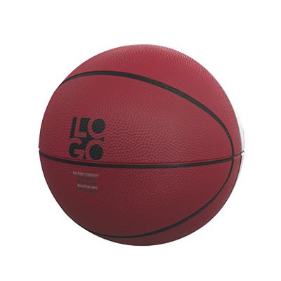 ALABAMA  RED & WHITE PANEL BASKETBALL