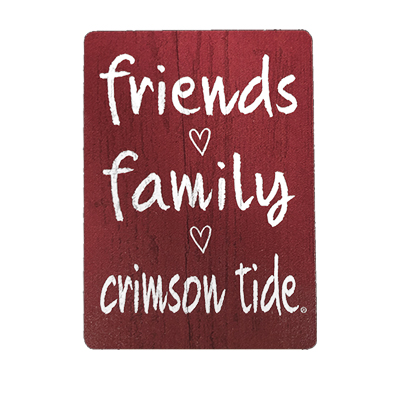 Alabama Friends And Family Magnet