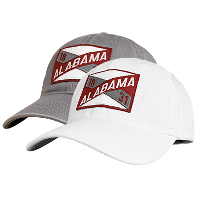 Alabama 1831 Flag Patch Relaxed Twill Cap