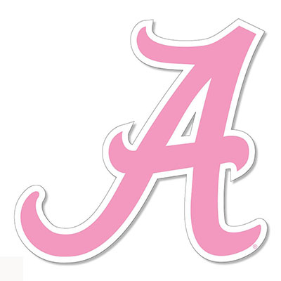 Alabama Script A Decal