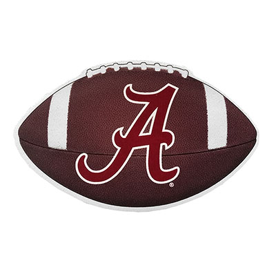 Alabama Football With Script A Decal