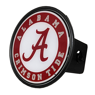 Alabama Circle Logo Domed Hitch Cover