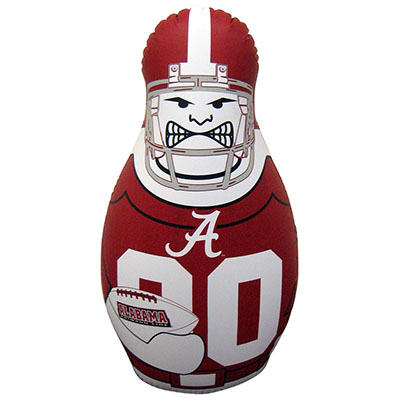 Alabama Football Player Bop Bag