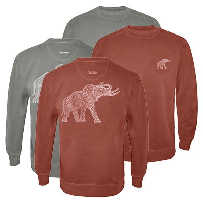 Alabama Original Retro Elephant Sweatshirt