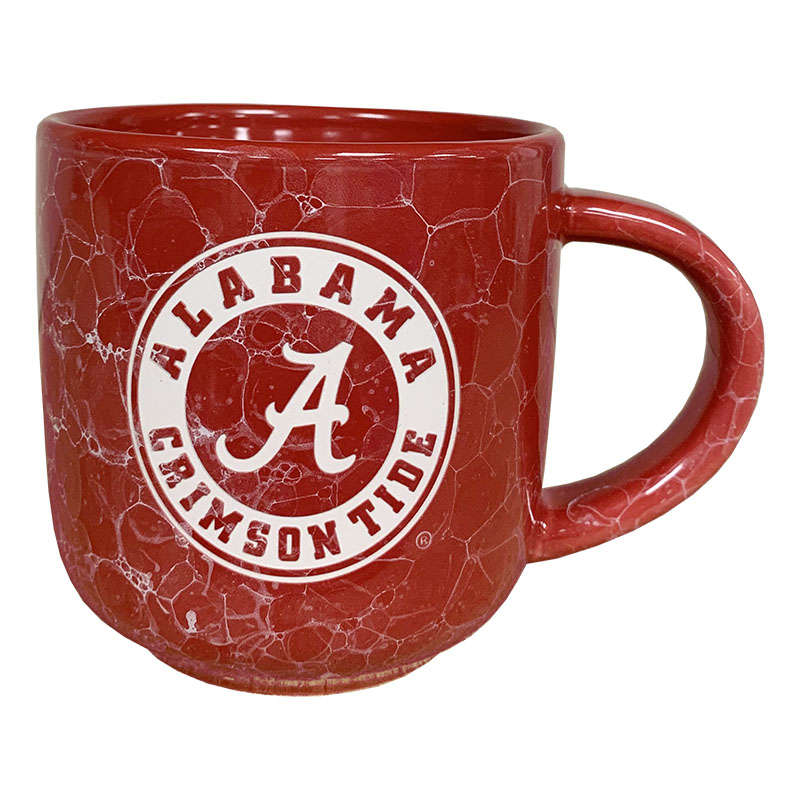 Alabama Marble Mug With Etched Circle Logo (SKU 1348007372)