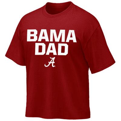 BAMA DAD BLOCK SCRIPT A T-SHIRT