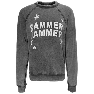 Alabama Rammer Jammer Acid Wash Pullover