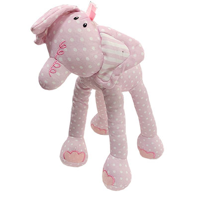 Baby Elephant Striped Plush Elephant