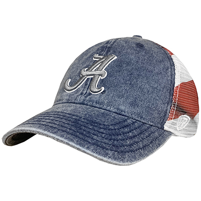 Alabama Script A July Patriotic Cap