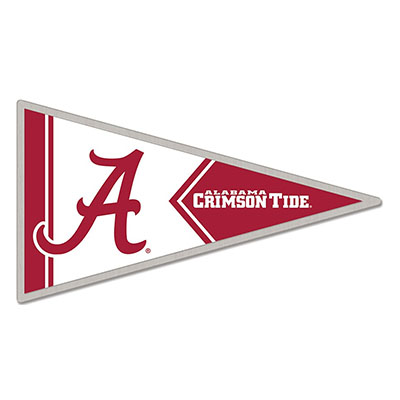 Alabama Crimson Tide Script A Pennant Collectors Pin