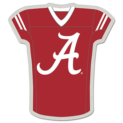 Alabama Script A Shirt Collectors Pin