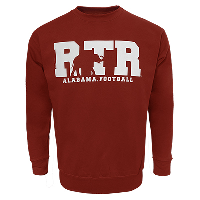 Alabama Football Rtr Elephant Silhouette Fleece Sweatshirt