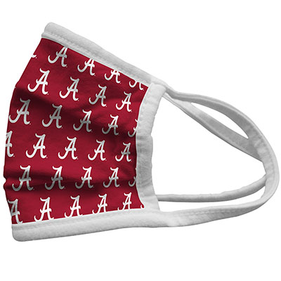 Alabama Repeating Script A Face Mask