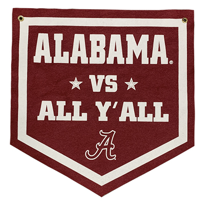 Alabama Vs All Y'all Banner