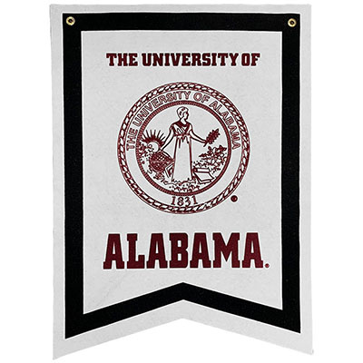 University Of Alabama Dovetail Banner With Seal